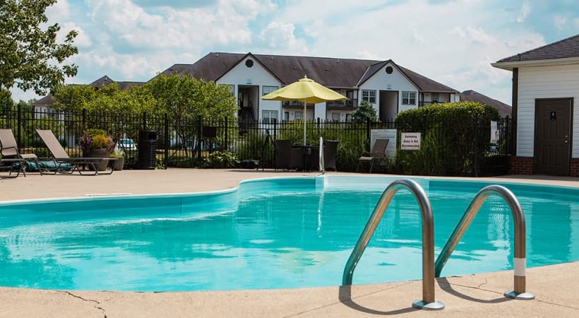 Resort-Style Pool at Abbie Lakes by Cortland