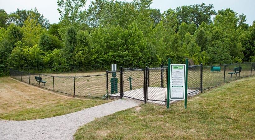 Leash-Free Bark Park at Abbie Lakes by Cortland Apartments