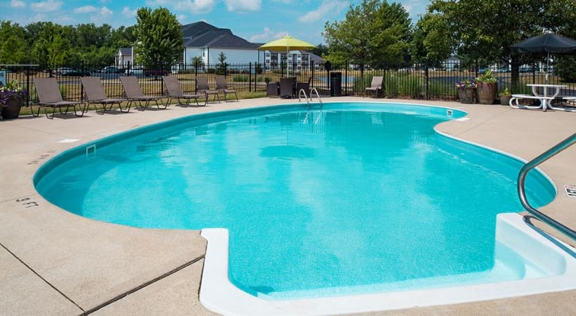 Resort-Style Pool at Abbie Lakes by Cortland Apartments
