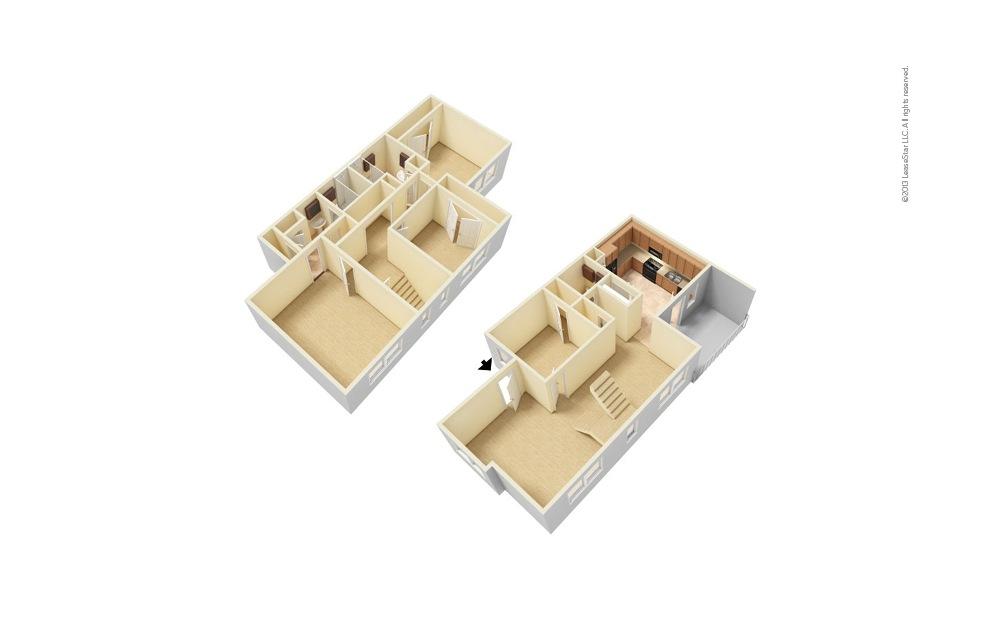 The Mansion 4 bedroom 2.5 bath 1710 square feet (1)