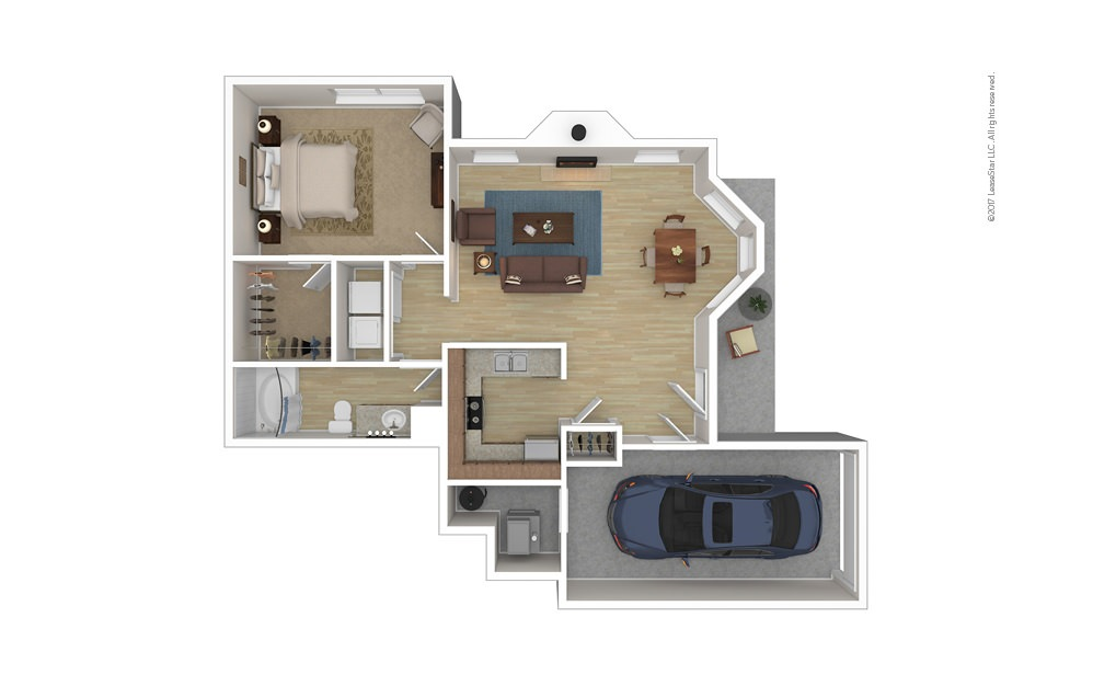 Bayville 1 bedroom 1 bath 721 square feet