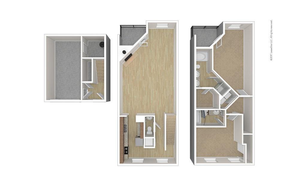 Warwick 2 bedroom 2.5 bath 1754 square feet (1)