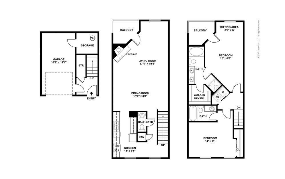 1 Beds 1 Baths 440 Sq Ft Plan 924 7: Available One And Two Bedroom Apartments In New