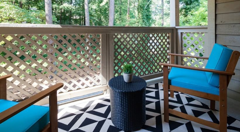 Personal Patios and Balconies