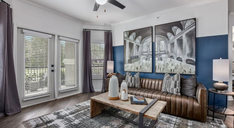 Ceiling Fans in Living Room