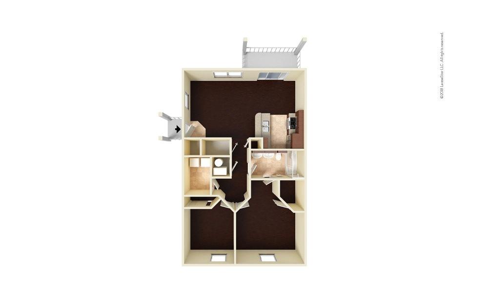 Eagle Eye 2 bedroom 1 bath 900 square feet (1)