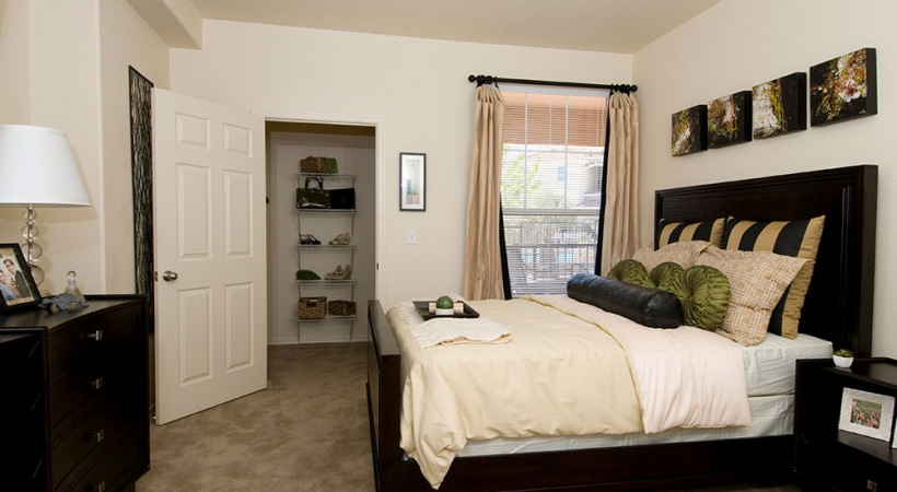 Classic Bedroom with Spacious Walk-In Closets