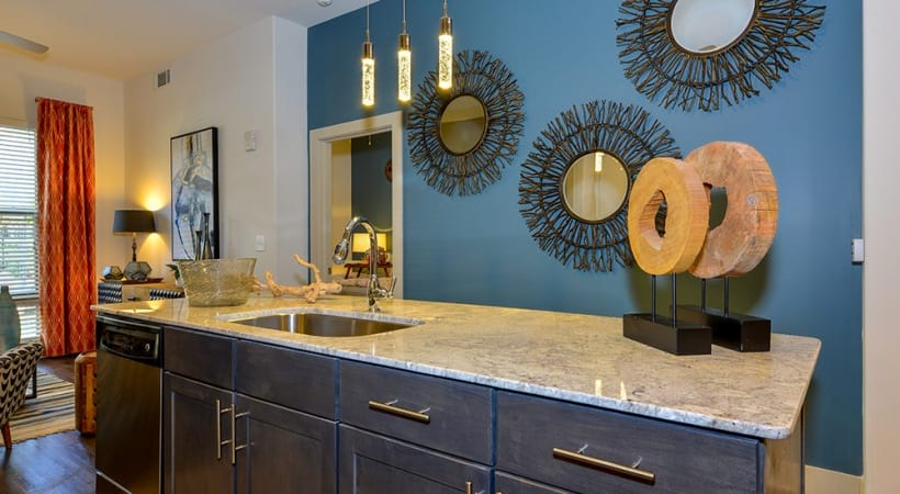 Expansive Kitchen Islands