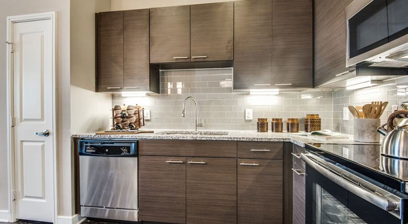 Custom Cabinetry with Designer Hardware