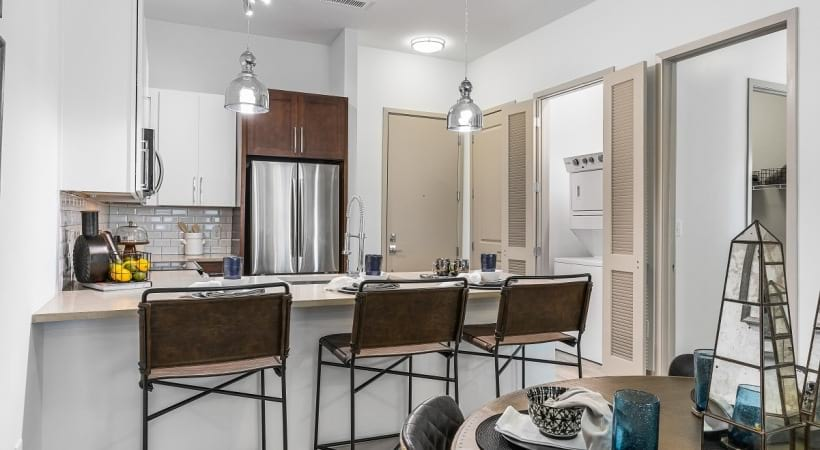 Luxury kitchen at our apartments for rent in Birmingham, AL
