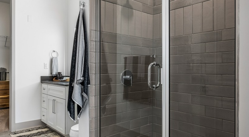 Birmingham apartments with walk in shower