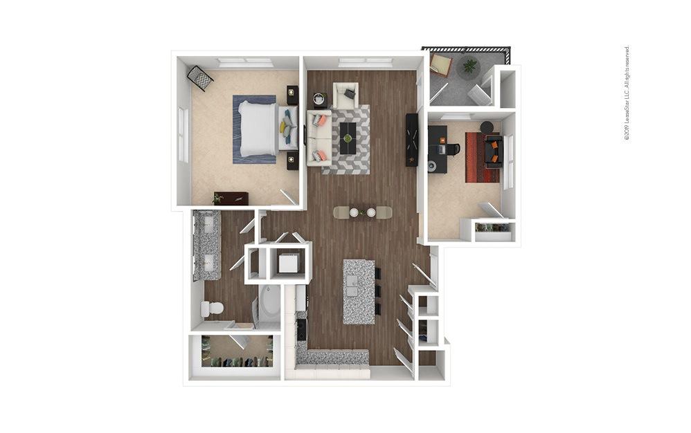Fairway 1 bedroom 1 bath 1081 square feet