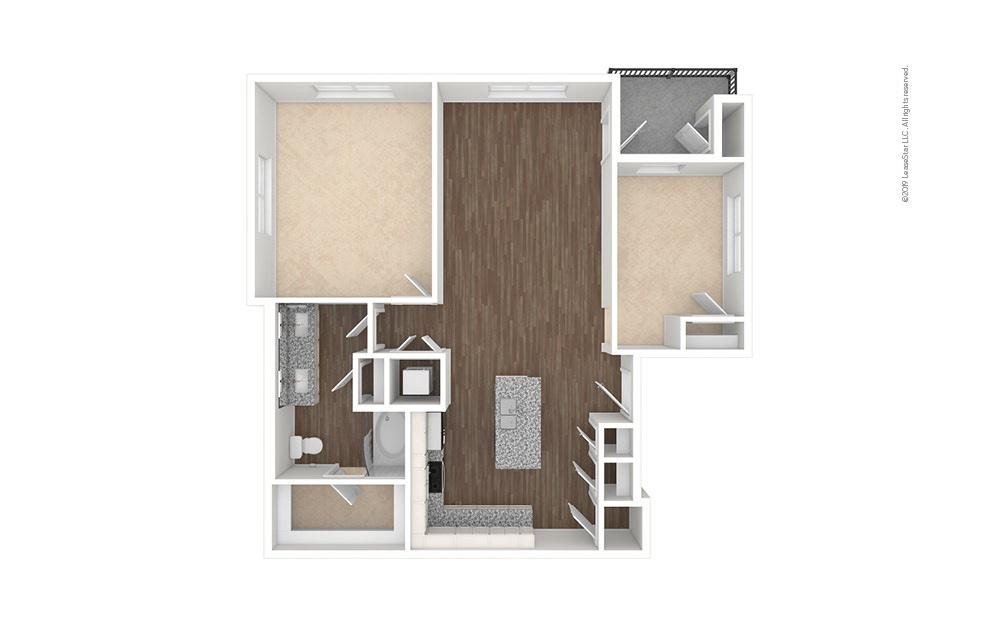 Fairway 1 bedroom 1 bath 1081 square feet (1)