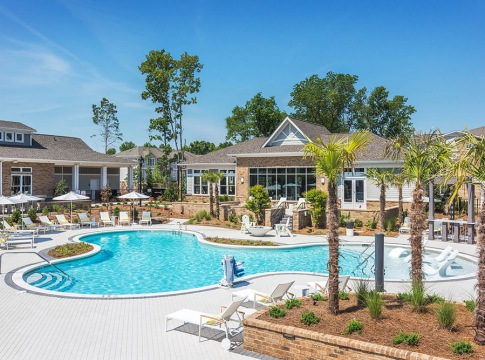 Saltwater Pool and Sun Deck
