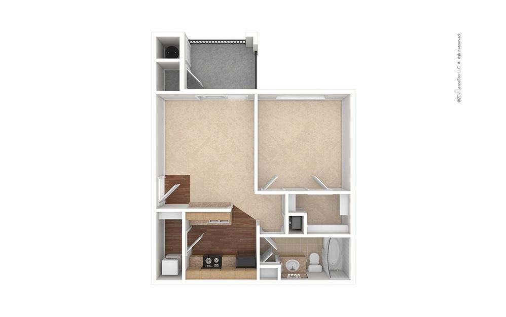 A1 1 bedroom 1 bath 556 square feet (1)