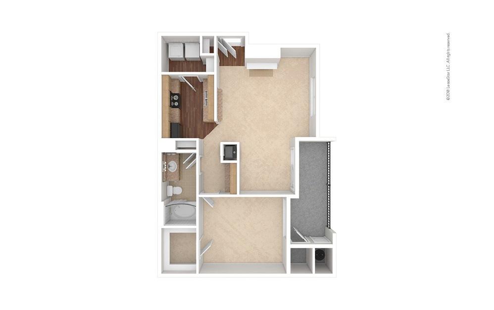 A4 1 bedroom 1 bath 798 square feet (1)