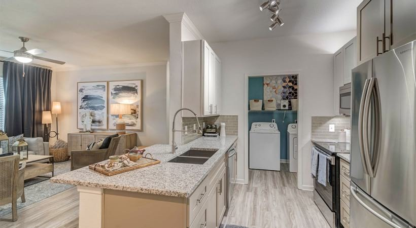 South Austin apartments with stainless steel appliances