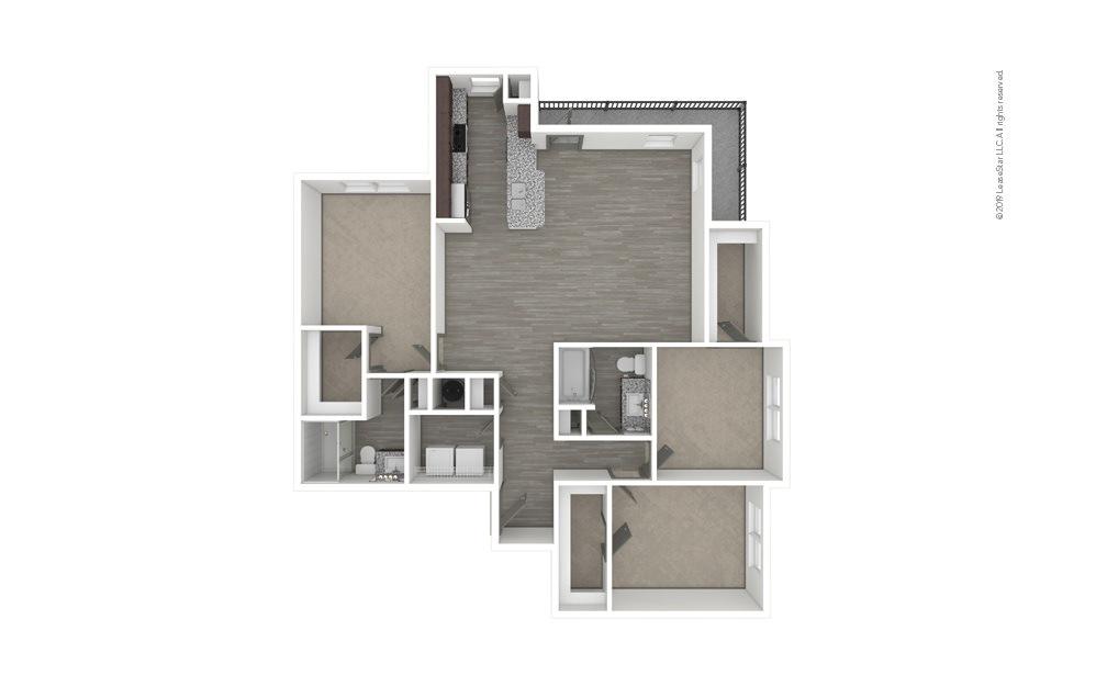 C2 3 bedroom 2 bath 1471 square feet (1)