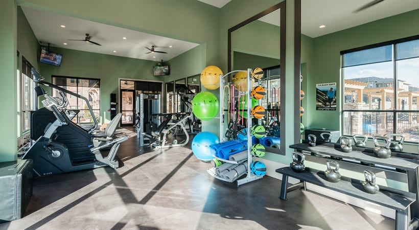 Fitness Center with Yoga Space
