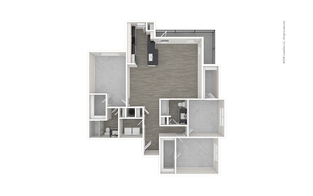 C3 3 bedroom 2 bath 1471 square feet (1)