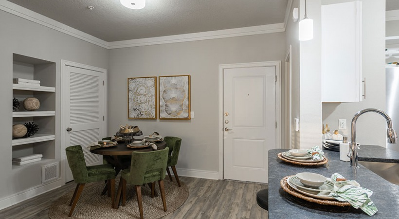 Dining area at apartments for rent in Sanford, FL