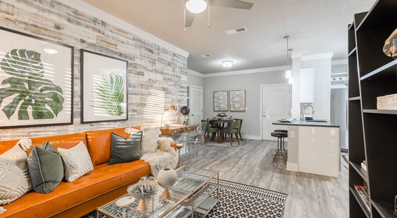 Luxury living spaces at apartments in Sanford, FL