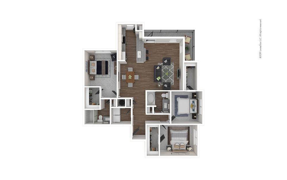 Vista West 3 bedroom 2 bath 1469 square feet