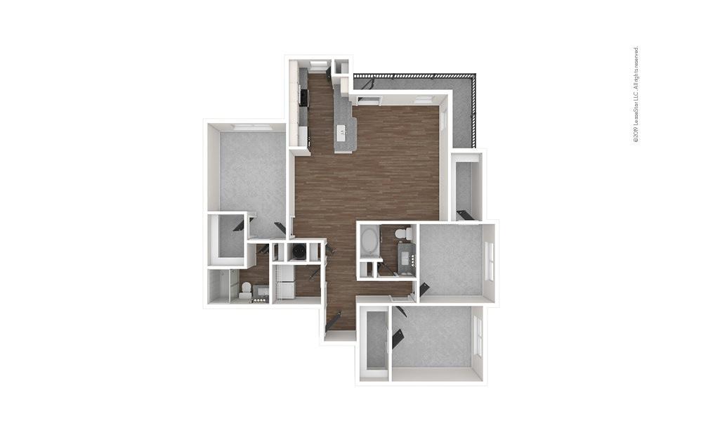 Vista West 3 bedroom 2 bath 1469 square feet (1)
