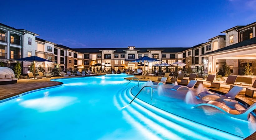 Apartments in North Fort Worth, TX with salt water pool