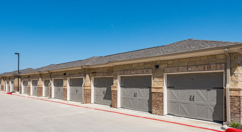 Our Craig Ranch apartments with garages