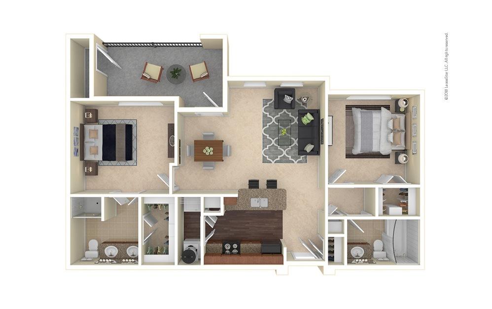 Boulder 2 bedroom 2 bath 1031 square feet