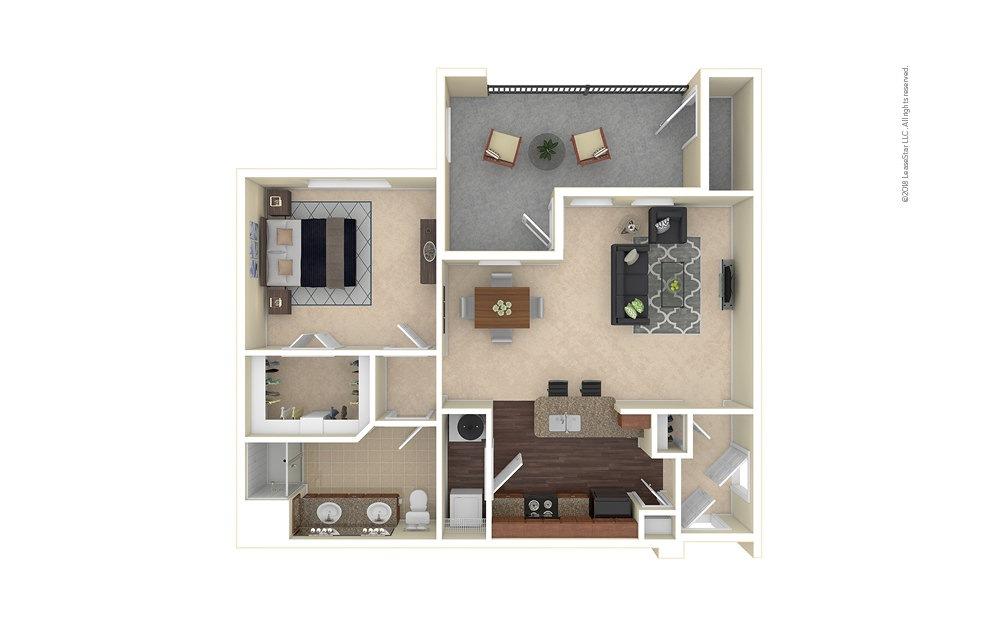Castle Rock 1 bedroom 1 bath 850 square feet