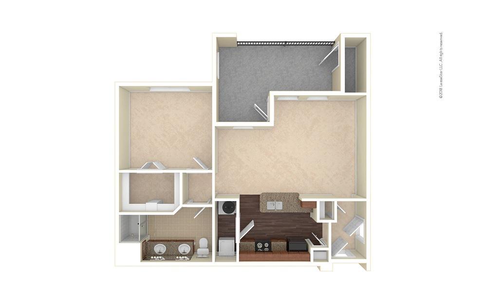 Castle Rock 1 bedroom 1 bath 850 square feet (1)