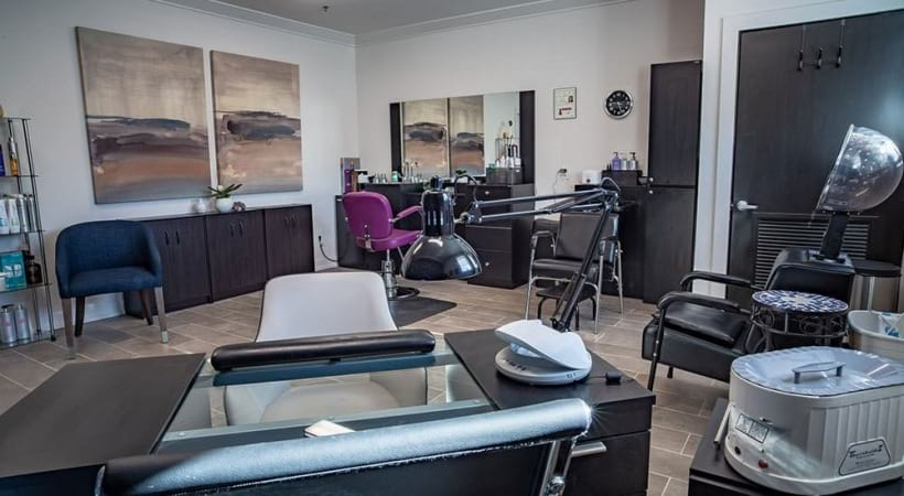 On-site salon at our 55 and older apartments for rent in Grand Prairie, TX