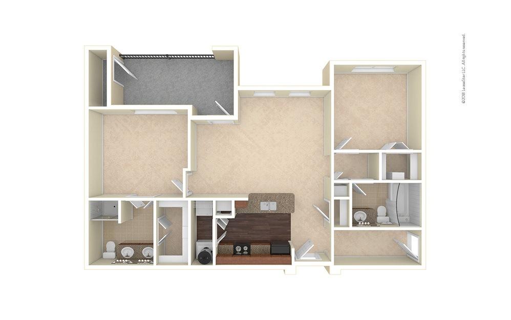 Longmont 2 bedroom 2 bath 1097 square feet (1)