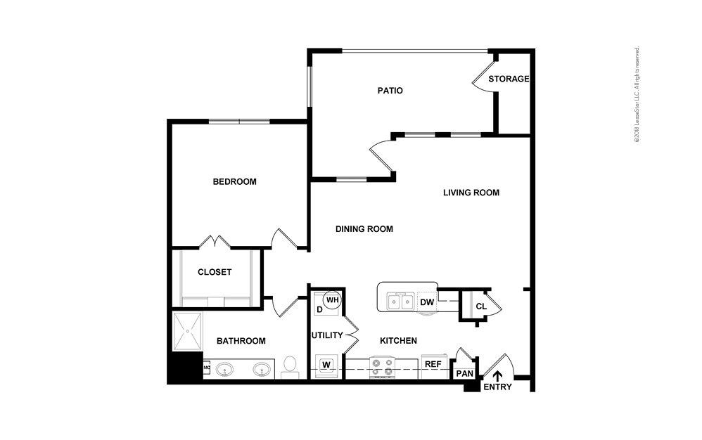 Steamboat 1 bedroom 1 bath 850 square feet (2)