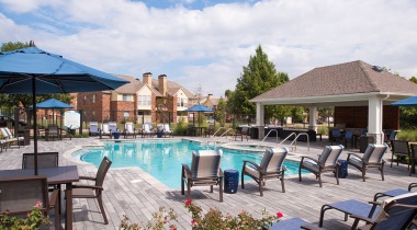 Active adult apartments with pool