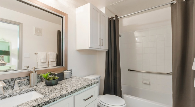 Active Adult Apartments Bathroom