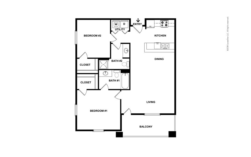B1 available one two and three bedroom apartments in - 3 bedroom apartments in fort worth ...