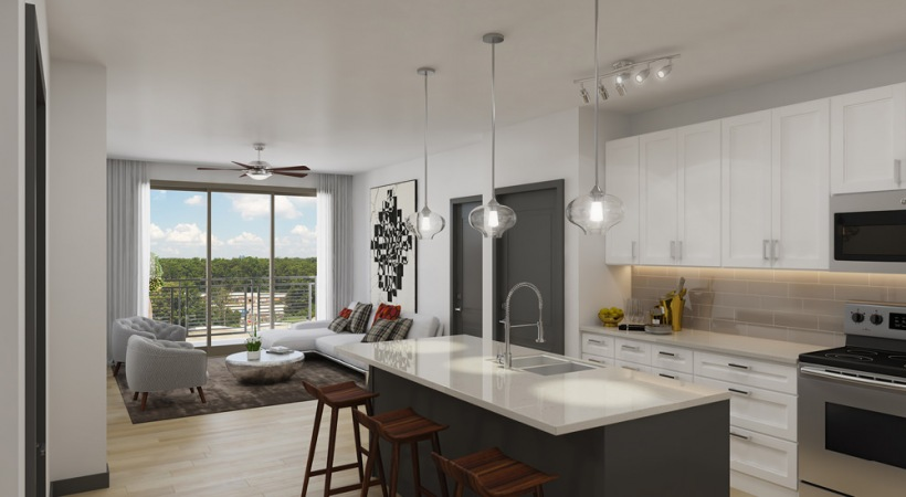 Modern Floor Plan In Our Luxury Apartments Atlanta