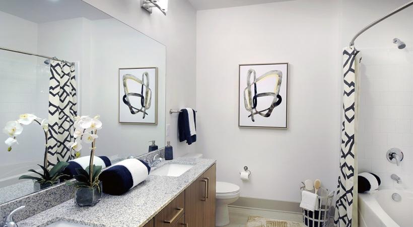 Double Sink Vanities in Select Homes