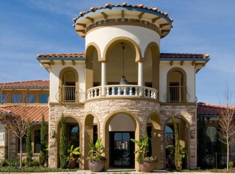 Cortland La Villita's leasing center and clubhouse