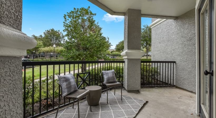 spacious apartment floor plan in allen tx
