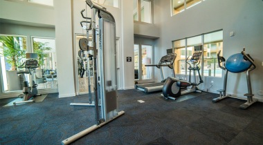 Two Story, 24/7 Fitness Center with Free Weights