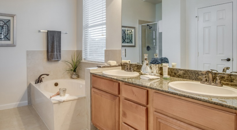 Double Vanities in Select Homes