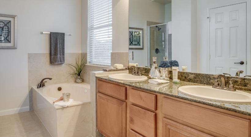 Double Vanities in Select Homes