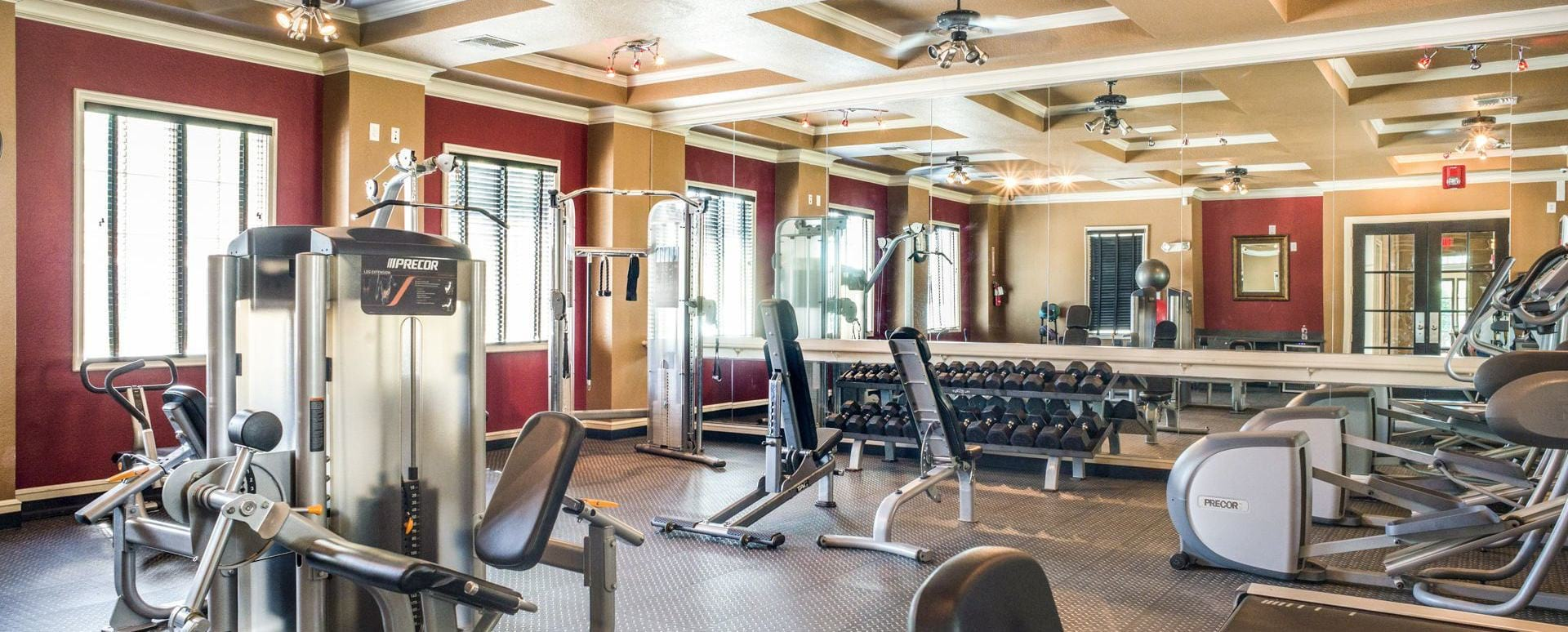 Valley Ranch apartments with fitness center