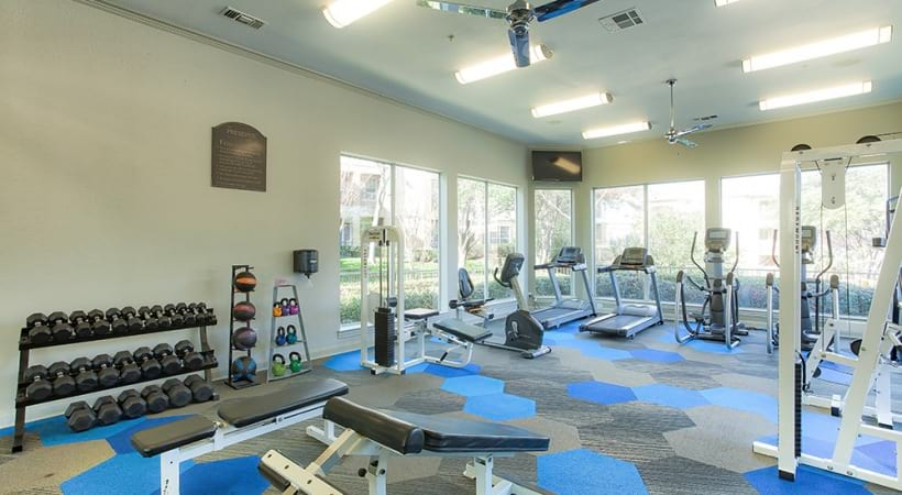 West Plano apartments with fitness center
