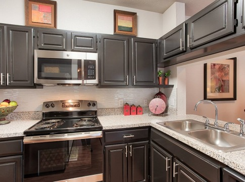 West Plano apartments with stainless steel appliances