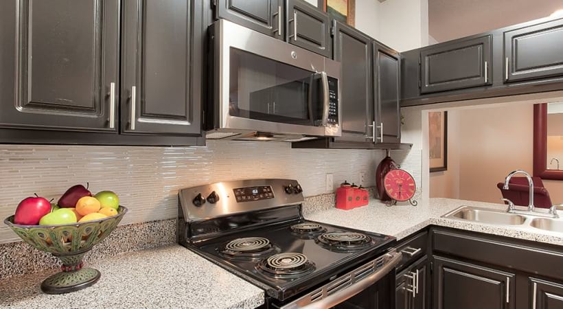 Energy-Efficient, Stainless Steel or Black Appliances